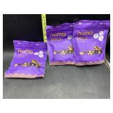 3 bags numa chili late milk good-for-you nougat -