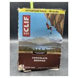 Clif bar - 10 energy bars chocolate brownie