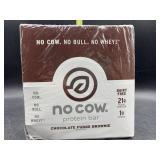 No cow protein bar - chocolate fudge brownie - 12