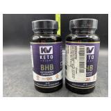 2 bottles keto BHB ketogenic capsules - 800mg -