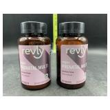 2 bottles vegan prenatal multi vitamin- 60