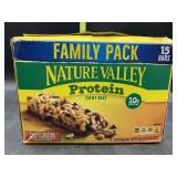 Family pack - nature valley protein bars - 15
