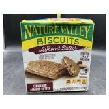 Nature valley biscuits with almond butter - 5