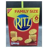 Family size - Ritz crackers - 6 individual packs