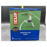 Clif bar chocolate chip 6 energy bars