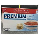 Family size saltine crackers 6 individual packs