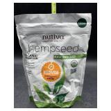Nutiva hemp seed raw shelled organic superfood -