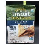 Organic triscuit thin crisps original - 6.5oz