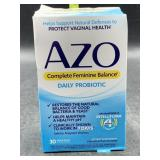 Azo complete feminine balance daily probiotic-30