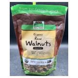 Organic raw walnuts unsalted - halves & pieces -