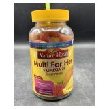 Nature made mutli for her +omega-3s 150 gummies