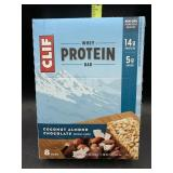 Clif bar whey protein bars - coconut almond