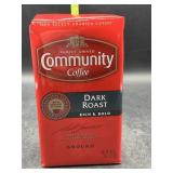 Community coffee dark roast ground coffee 16oz