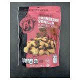 Cranberry vanilla flavored cashews 7oz