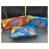 3 family size chips ahoy cookies - 2 original, 1