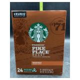 Starbucks pike place roast kcups 24 count