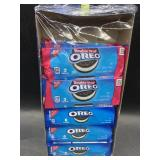 12 individual packs of Oreos - 6 double stuf, 6