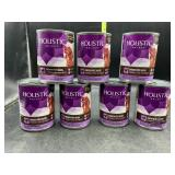 7 cans grain free dog food - chicken pate recipe