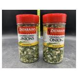 2 zatarans chopped green onions / 0.75oz each