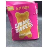 6 packs smart sweets gummy bears