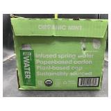 Organic mint water - 12 pack