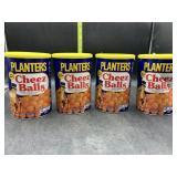 4 planters cheez balls 2.75oz