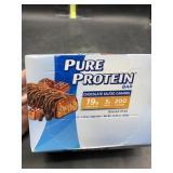 Pure protein bar 6 bars - chocolate salted Carmel