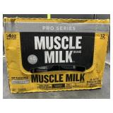 12 14oz bottles muscle milk pro series - go