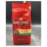 Community coffee half-caff ground coffee 12oz