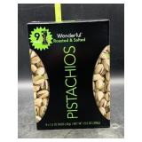 9 1.5oz bags of pistachios roasted & salted