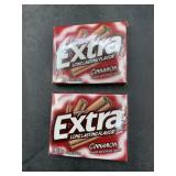 2 extra cinnamon sugar free gum- 15 sticks each