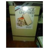 Storage boxes for under bed. 1 box