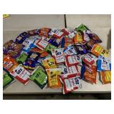 41 bags of individual chips - snack packs