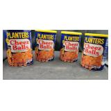 4 Containers of Planters Cheez Balls   Aug 2020.
