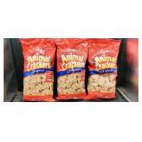 3 Pkgs Animal Crackers.   Dec 2020