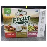 Freeze dried fruit crisps