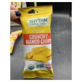 11 packs organic crunchy mango chips