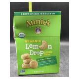Organic lemon drop cookie bites - 6.5oz