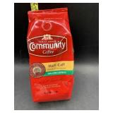 Community coffee half-caff ground coffee - 12oz