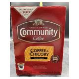 Community coffee 36 k cups - coffee & chicory