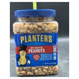Planters dry roasted peanuts - over 2lbs