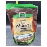 Organic raw walnuts - unsalted 12oz