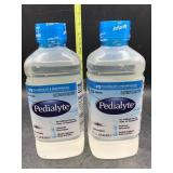 2 Pedialyte 33.8fl oz unflavored