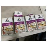 4 Quaker instant oatmeal - raisins & spice