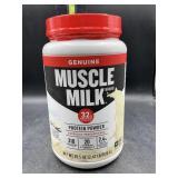 Muscle milk protein powder 2.47lbs - vanilla