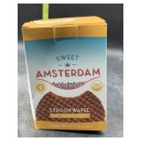Sweet Amsterdam stroopwaffle real organic honey /