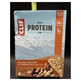 Clif bar - whey protein bars- peanut butter &