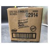 25 1oz box of cracker jacks