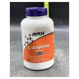 L-Arginine 500mg amino acid - 250 veg capsules