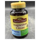 Nature made magnesium citrate 60 softgels
